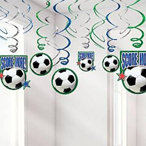 Bilde av Fotball Hengende Dekorasjon 60cm