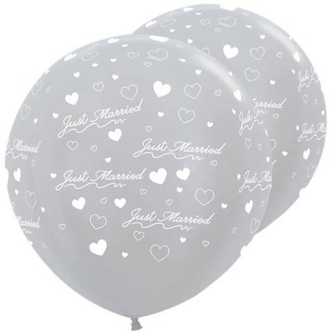 Bilde av Ballonger Satin Sølv Latex