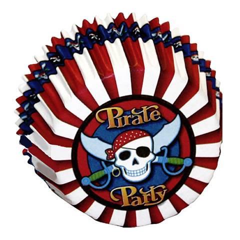Bilde av Muffinsformer Pirater 50stk