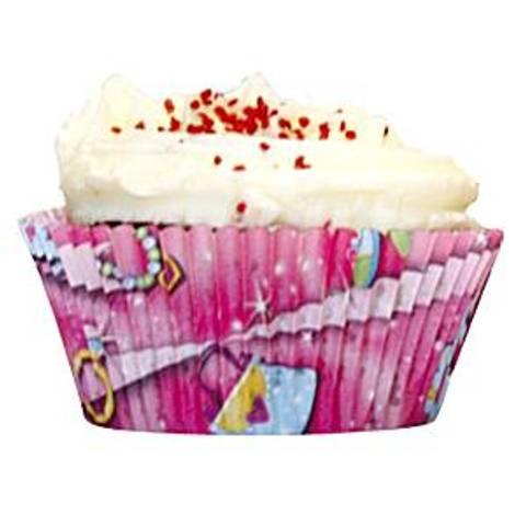 Bilde av Muffinsformer Prinsesse Prisme 50stk
