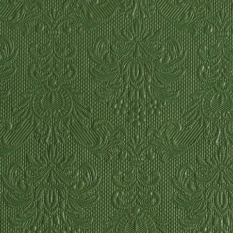 Bilde av Servietter Elegance Lunsj Mørk Grønn 33cm 15stk