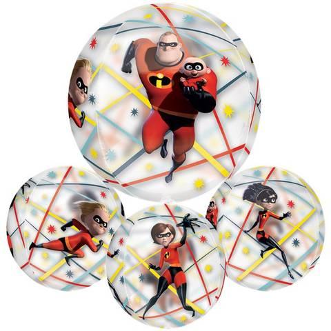 Bilde av Folie Ballong The Incredibles 2 Orbz 40cm