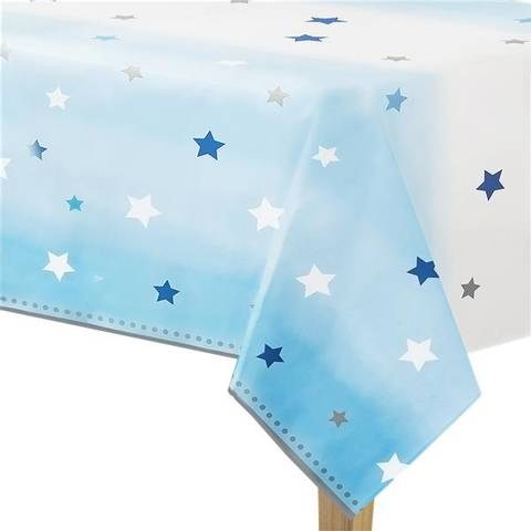 Bilde av Twinkle One Little Star Blå Plastduk 1.4m x 2.6m