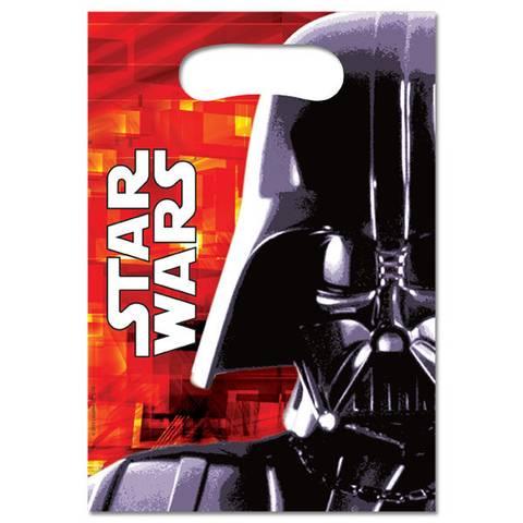 Bilde av Star Wars Party Bags Plast 6stk