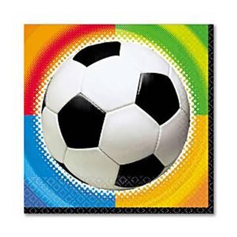 Bilde av Championship Fotballservietter 33cm 16stk
